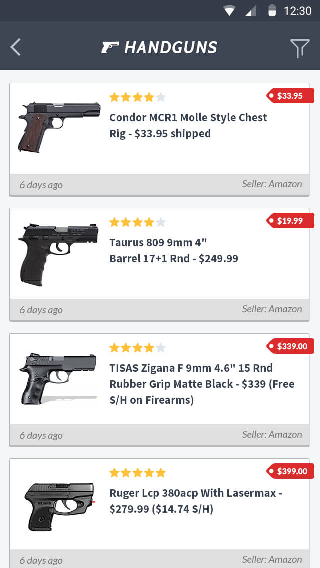 Gun Deals Intellex